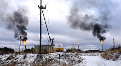 Russia is world champion in burning natural gas